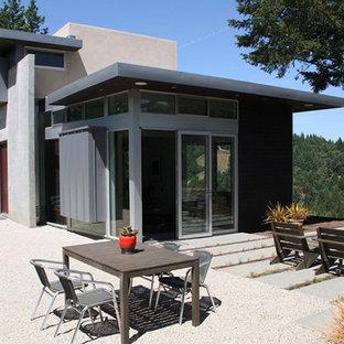Minimalist concrete exterior home photo in San Francisco