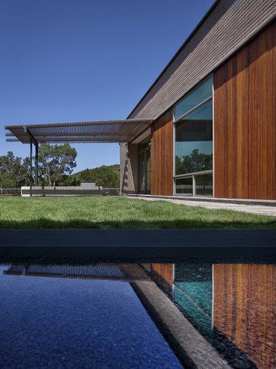 Visite priv e une surprenante architecture minimale austin for Architecture minimale