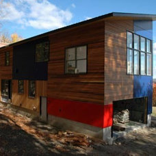 Modern Exterior by Landon Bone Baker Architects