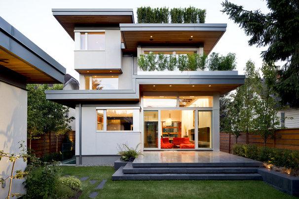 Contemporary Exterior Modern Exterior