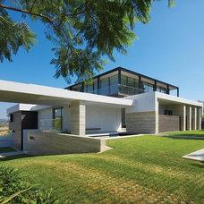 Modern Exterior by Prestige Builders