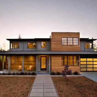 Zweistöckiges Modernes Haus in San Francisco