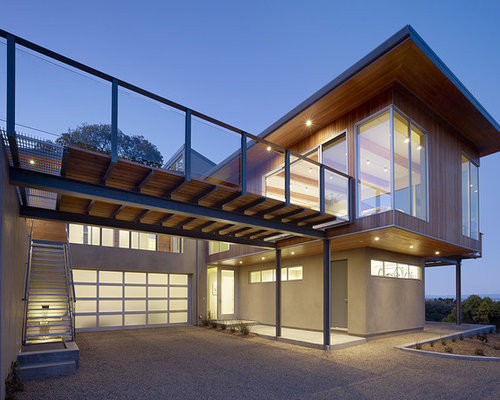 Carport deck houzz for Contemporary carport design architecture