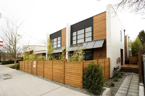 Современный Фасад дома Modern Exterior
