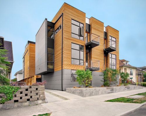 Modern luxury apartment exterior home design ideas for Flat exterior design