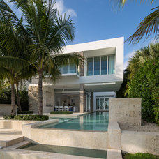 Modern Exterior by Max Strang Architecture