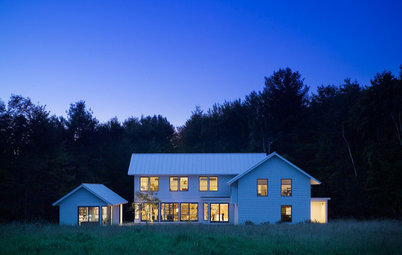 Houzz Tour: Contemporary Farmhouse in Rural Vermont