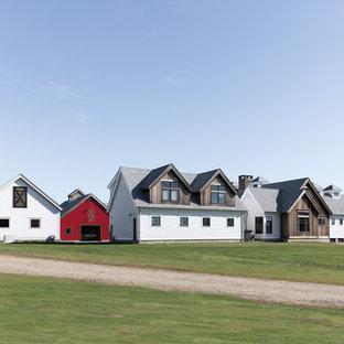 Modern Farm House with Custom Barn