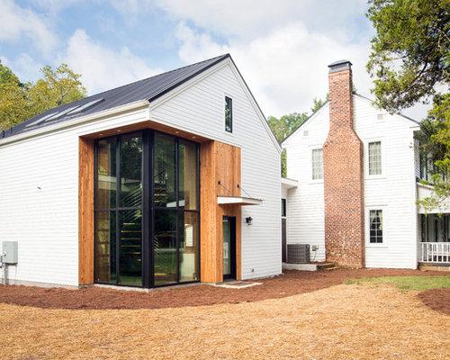 Foto e idee per facciate di case facciata di una casa - Facciata casa moderna ...