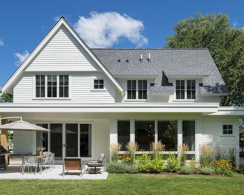 foto e idee per facciate di case facciata di una casa On casas modernas llc west 12th street dallas tx