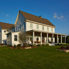 Farmhouse Exterior by Hendel Homes