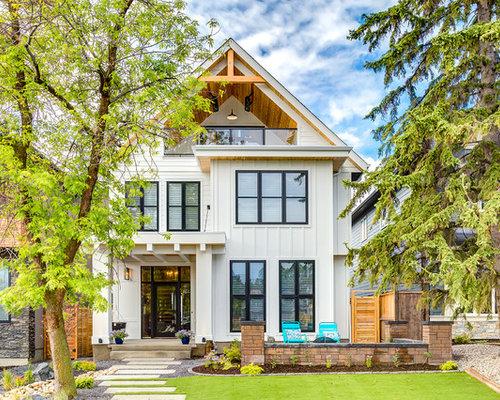 Farmhouse Exterior Home Design Ideas Remodels Amp Photos