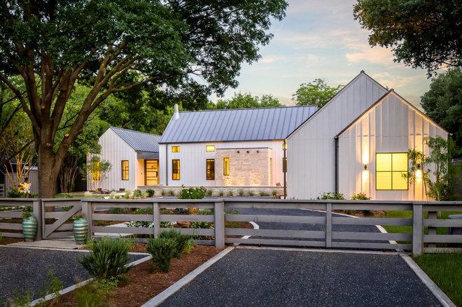 Farmhouse Exterior by Olsen Studios