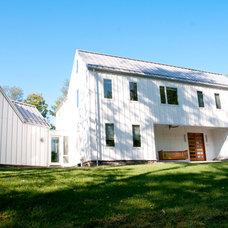 Farmhouse Exterior by lee CALISTI architecture+design
