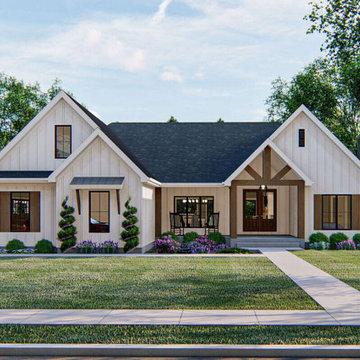Modern Farmhouse Plan 963-00409