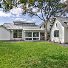 Farmhouse Exterior by Redbud Custom Homes