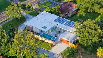 Modern Floor Plan Solar Panels