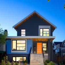 Contemporary Exterior by Marken Design + Consulting