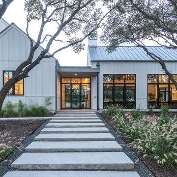 Modern Hill Country Farmhouse