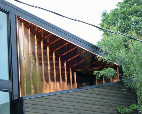 saveemail modern home exterior metal siding wood siding copper