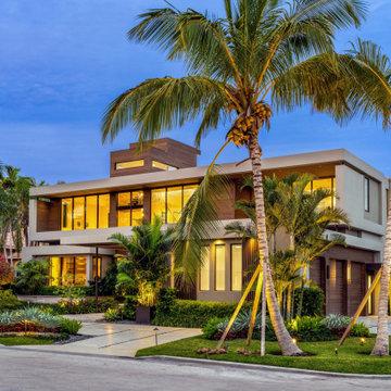 Modern home: Hollywood florida