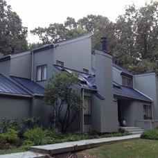 Modern Exterior by Leska Restoration LLC