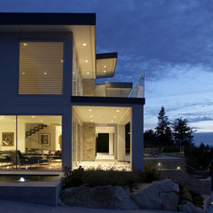 modern exterior by LOTOS Construction
