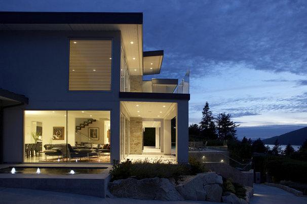 Modern Exterior by LOTOS Construction