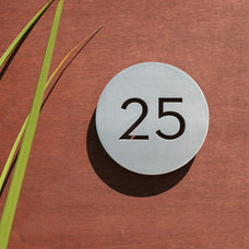Modern Outdoor Products by Modern House Numbers