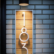 modern house numbers's ideas