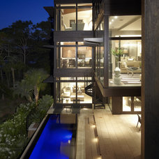 modern exterior by The Anderson Studio of Architecture & Design