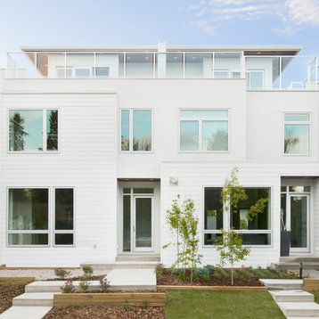 White Ballet Benjamin Moore Exterior Design Ideas Pictures Remodel Decor With Three Or More