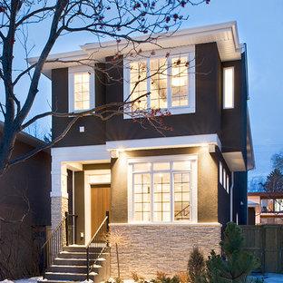 75 Most Popular Contemporary Calgary Exterior Home Design
