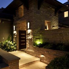 Eclectic Exterior by Splittgerber Professional Builders