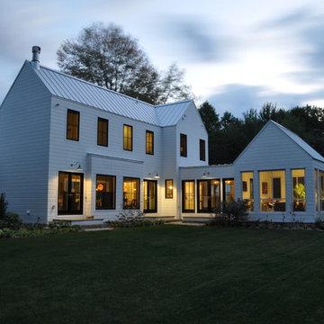 Modern Michigan Farm House