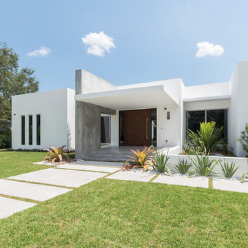 Modern New Home Construction Oasis