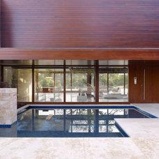 Modern Exterior by Lencioni Construction