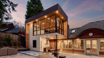 Modern Poolhouse Addition