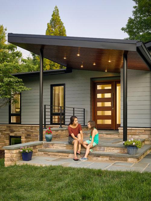 Midcentury Porch Design Ideas Remodels Amp Photos Houzz