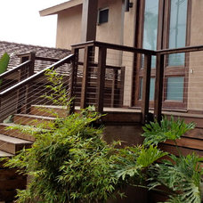 Modern Exterior by San Diego Cable Railings