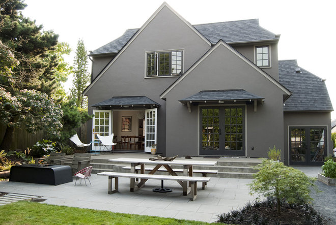 Traditional Exterior by risa boyer architecture