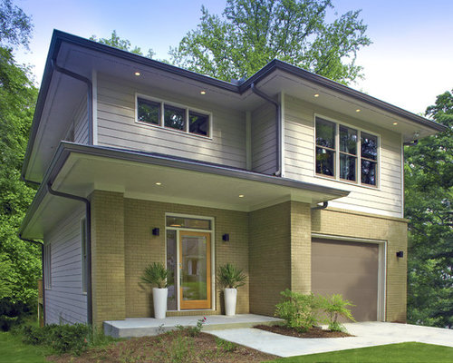 Contemporary prairie style house house style for Prairie style characteristics