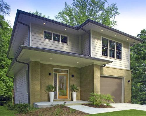 Contemporary prairie style house house style for Prairie style house characteristics