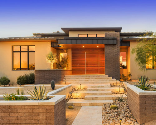 Contemporary Phoenix Exterior Home Design Ideas, Remodels & Photos