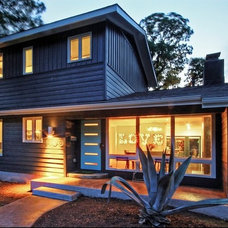 Midcentury Exterior by crestviewdoors