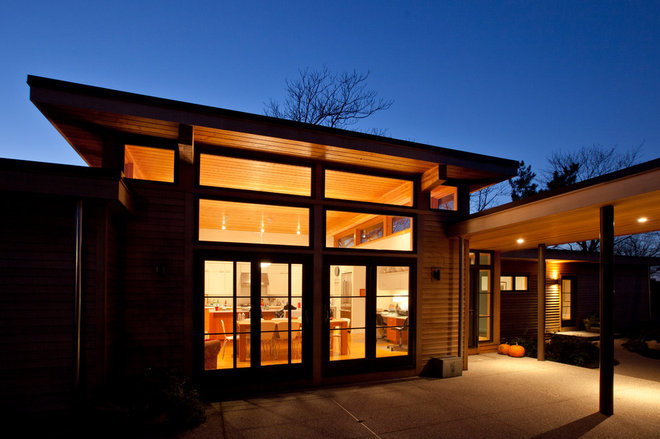 Modern Exterior by Hammer Architects
