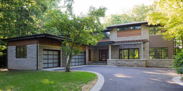 Contemporary Exterior by David Small Designs