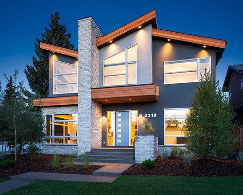 Best 15 modern calgary exterior home ideas designs houzz Exterior home renovations calgary