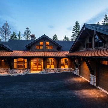 Modern Rustic Residence