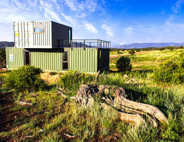 Modern Shipping Container Cabin
